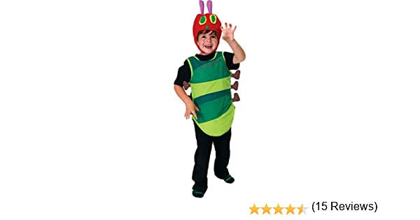 CHILDS THE VERY HUNGRY CATERPILLAR COSTUME - SMALL (5 - 6 YEARS ...