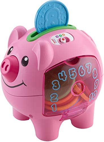 Fisher-Price Laugh & Learn Smart Stages Piggy Bank [Amazon Exclusive]