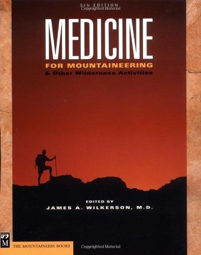 medicine for mountaineering & other wilderness activities pdf