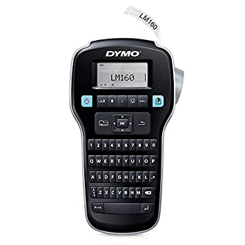 Dymo Labelmanager 160 Hand Held Label Maker Silver Black 1790418