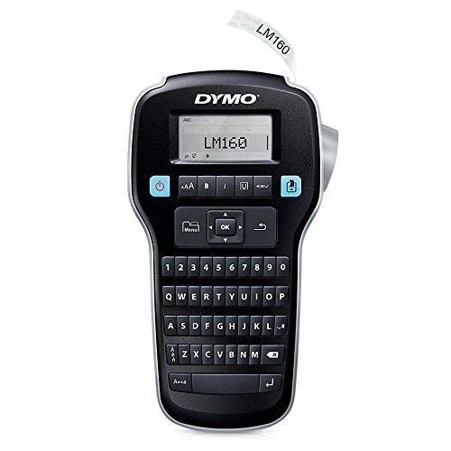DYMO LabelManager 160 Handheld Label Maker (Compact Handheld Labeler)