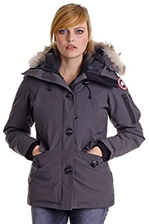 bf12a3626fc Canada Goose Veste 2530LR66 Montebello Parka pour Femme  Amazon.fr ...