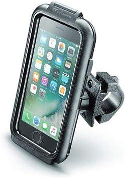 Cellularline SMIPHONE8 - Soporte (Teléfono móvil/Smartphone, Soporte pasivo, Bicicleta, Motocicleta, Negro): Amazon.es: Electrónica