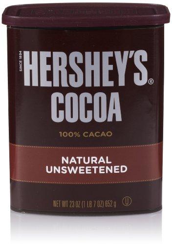HERSHEYS Unsweetened Cocoa 23 Ounce