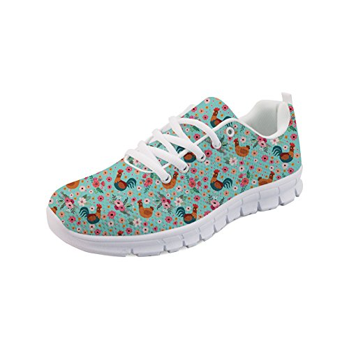 Showudesigns Animal Floral Fashion Sneaker Women Girls Sport Runing Shoes Pattern color 4 bi3WyZVZ7