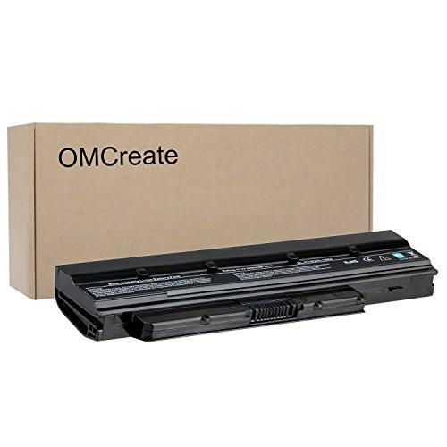 OMCreate Laptop Battery for Toshiba Satellite T210 T215D T230 T235; Mini NB500 NB505 B525, fits P/N PABAS232 / PABAS231 / PA3821U-1BRS / PA3820U-1BRS - 12 Months Warranty