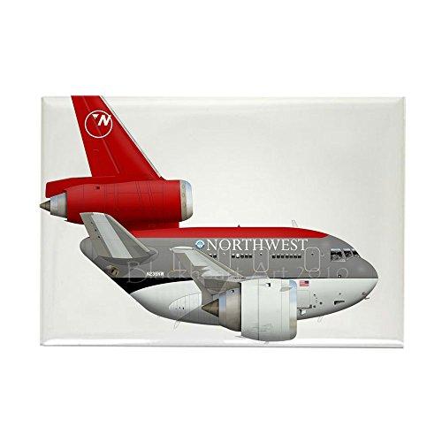 Cafepress   Northwest Airlines   Rectangle Magnet  2 X3  Refrigerator Magnet