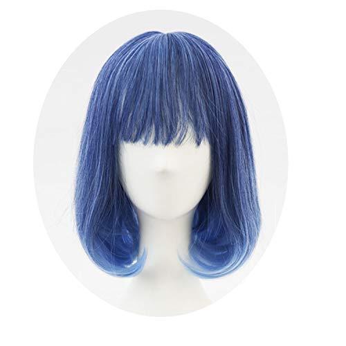 Grandma gray gradient white Synthetic Hair daily Wig lolita wig Costume Play Wigs,5039B