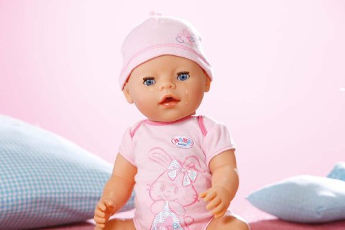 Zapf Creation 818695 - Muñeco niña interactiva Baby Born