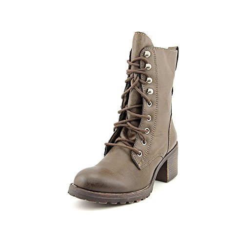 American Rag Womens Zack Leather Almond Toe Mid-Calf Fashion Boots Taupe 5QOnB