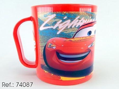 Asekible - Taza mug plastico para microondas cars: Amazon.es ...