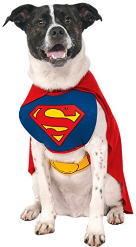 Superman Costume For Dogs (Superman Dog Costume - XL - 22-24 Inch Chest)
