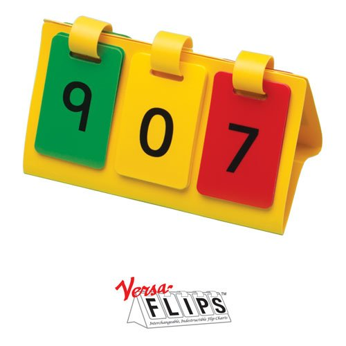Primary Concepts AA4838 HTU Student VERSA-FLIPS Chart (Set of 20)