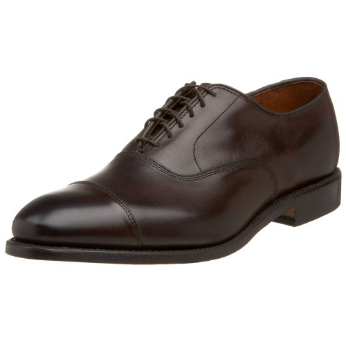 Allen Edmonds Men's Park Avenue Lace-Up,Dark Brown Burnished,14 D US