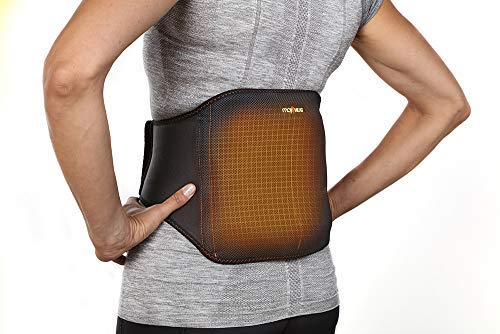 Moji Heated Lower Back Wrap - 3 Sizes - Delivers #1 Doctor Recommended Treatment for Back Pain - Relieves Muscle Tension - Safe, Natural Moist Heat Therapy - Microwavable - Wear While On The Go by Moji