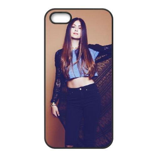 Jasmine Thompson 004 coque iPhone 5 5S cellulaire cas coque de téléphone cas téléphone cellulaire noir couvercle EOKXLLNCD24711