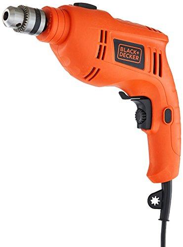 Black + Decker TB555 10mm 550-Watts Reversible Hammer Drill (Orange, 1-Piece) Price & Reviews