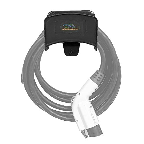 EV Charge Solutions Charger Cable Rack for Electric Vehicle Charging Station Storage J1772 EVSE Cable Holder/Dock/Hanger