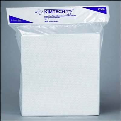 KCC33390 CL4 Critical Task Wipers, White, 3-Ply