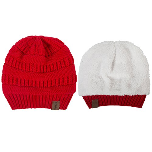 REDESS Baby Boy Winter Warm Fleece Lined Hat, Infant Toddler Kids Beanie Knit Cap Girls Boys [0-5years] by REDESS (Image #1)