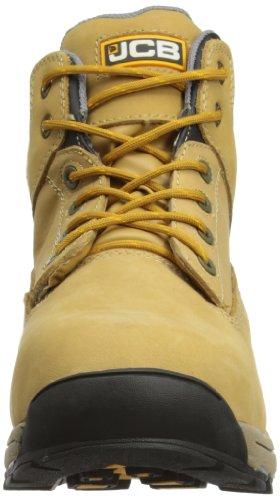 JCB Men's Work Max/H Chukka Boots, Honey, 10 UK