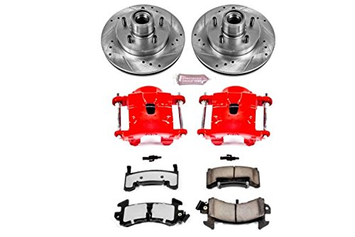 Power Stop KC1482-36 Front Z36 Truck and Tow Brake Kit with Calipers