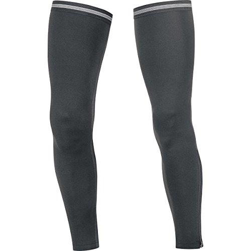 GORE BIKE WEAR Unisex Beinwärmer, Super Leicht, GORE Selected Fabrics, UNIVERSAL 2.0 Leg Warmers, Größe M, Schwarz, AUNILW