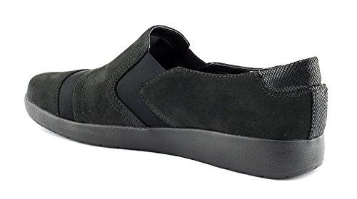 Rockport Dames Devona Desma Slip-on Loafer Zwart
