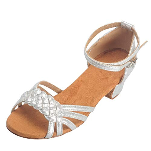 59522ffb8d2a0 Coco-Z Women's Shoes Sandals Rumba Waltz Prom Ballroom Latin Salsa Dance  Shoes Sandals Sandales Femme Talon Femme