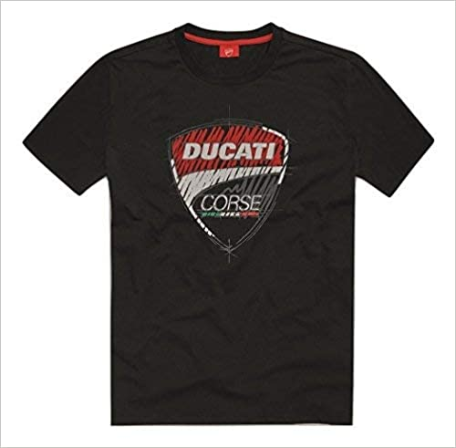 Ducati Corse 17 Graphic Sketch Short Sleeve T-Shirt Black MD