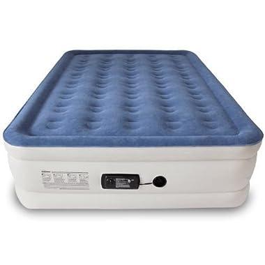 SoundAsleep Dream Series Air Mattress with ComfortCoil Technology & Internal High Capacity Pump - Queen Size