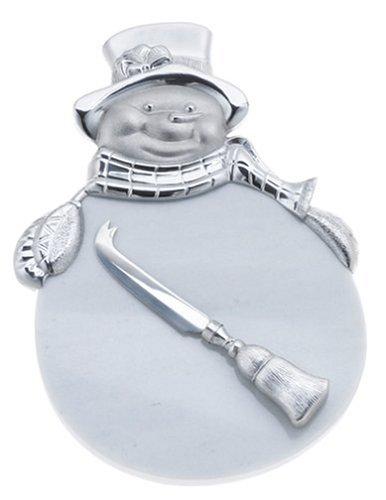 Lenox Yuletide Snowman Cheeseboard