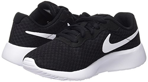 Nike Boy's Tanjun (PS) Running Shoes (1 Little Kid M, Black/White/White) by Nike (Image #5)