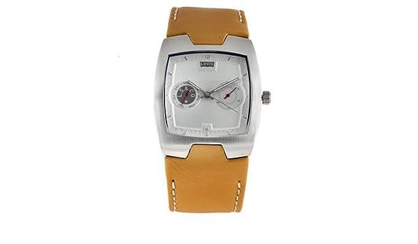 9131370c9136 Levis L003GICWRM - Reloj analógico de mujer de cuarzo con correa de piel  marrón - sumergible a 30 metros  Amazon.es  Relojes