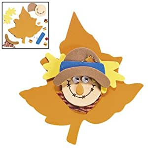 Foam scarecrow magnet craft kit crafts for for Amazon arts and crafts for kids