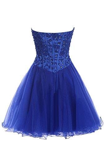 Short Dasior Tulle Skirt Dress Cocktail Homecoming Watermelon Prom Beaded rrwEqUd