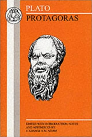 Protagoras (Greek Texts)