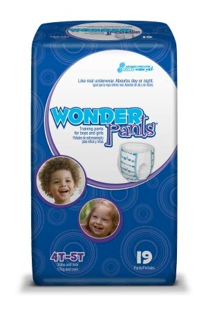 13673100 Toddler Training Pants WonderPants Pull On 4T - 5T Disposable Heavy Absorbency