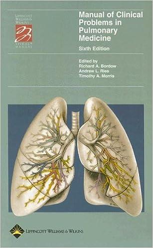 Google kostenlose Bücher herunterladen pdf Manual of Clinical Problems in Pulmonary Medicine (Lippincott Manual Series (Formerly known as the Spiral Manual Series)) 0781752779 auf Deutsch PDF CHM ePub