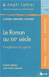 Le roman au xixe siecle