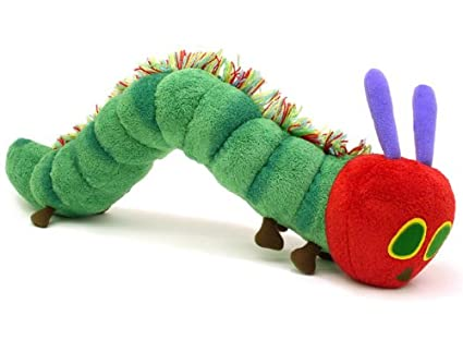 Amazon Com The Very Hungry Caterpillar Stuffed Animal L Toys Games