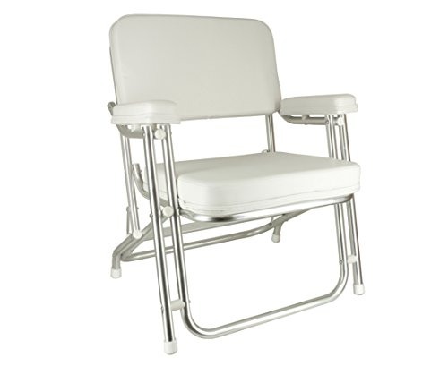 SeaLux Folding Deck Chair with Aluminum ()