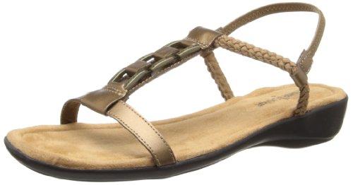 Minnetonka Women's Morana Dress Sandal - Bronze - 5 B(M) US