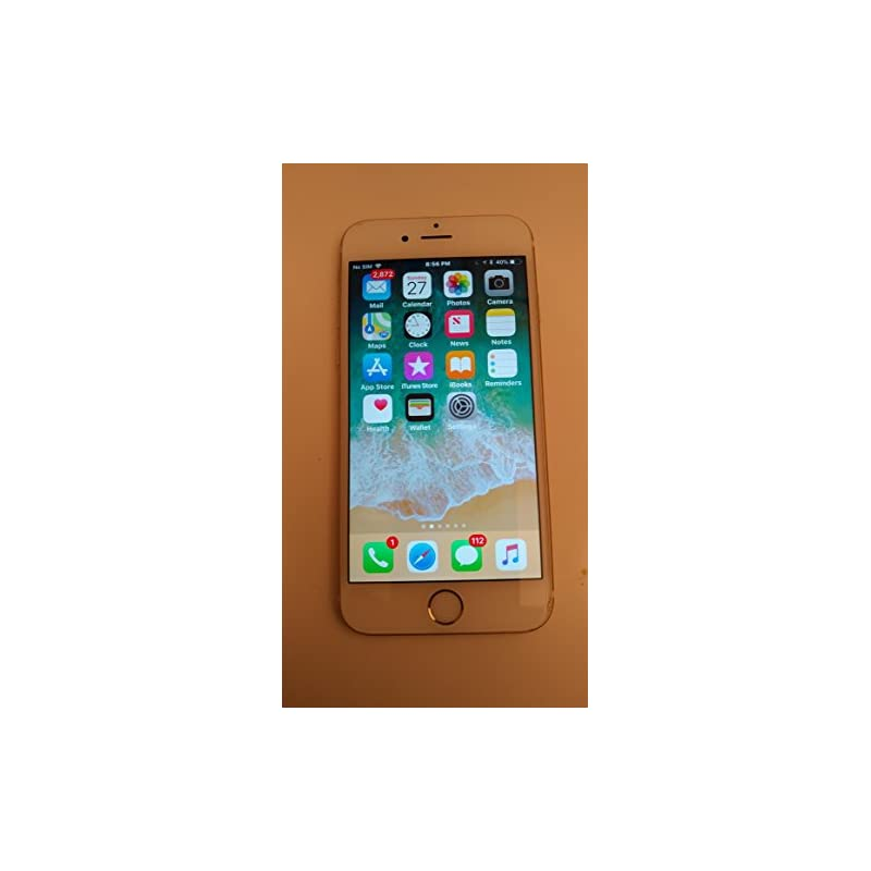 Apple iPhone 6S 16 GB Unlocked, Gold