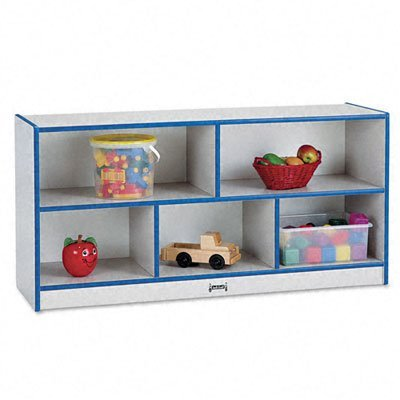 Rainbow Accents 0324JCWW003 Toddler Single Mobile Storage Unit, Blue by rainbow accents