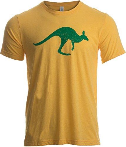 Ann Arbor T Shirt Co  Vintage Style Australia   Aussie Roo   Southern Cross Unisex Triblend T Shirt  Triblend M