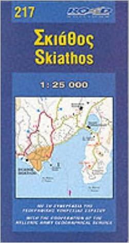 Skiathos (Maps): Amazon.co.uk: 9789608481947: Books