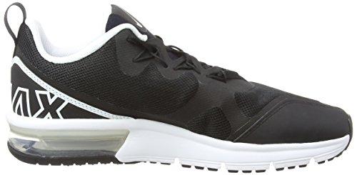 002 Black Trail Black White de MAX Running para GS Zapatillas Negro Hombre Air NIKE Fury 1Fxq66