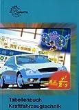 Tabellenbuch Kraftfahrzeugtechnik (ohne Formelsammlung). Tabellen - Formeln - Übersichten - Normen für Rechnen, Fachkunde, Werkstoffkunde, Zeichnen