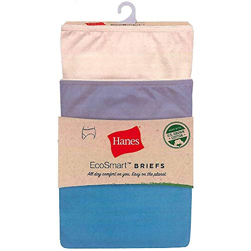 (Hanes Women's EcoSmart Brief 3-Pack)